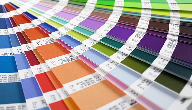 Farbfächer Malerei Horvath