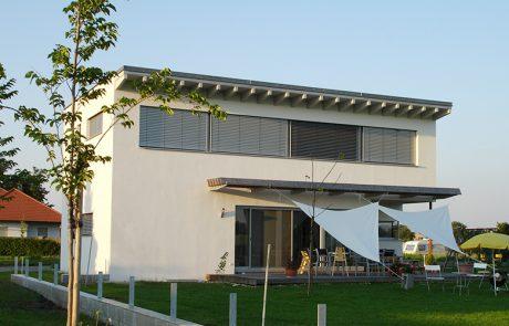 Fassade modern - Malerei Horvath