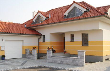 Fassade gelb-weiß - Malerei Horvath