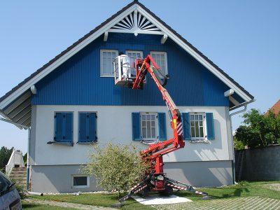 Vermietung Hebebühne - Malerei Horvath
