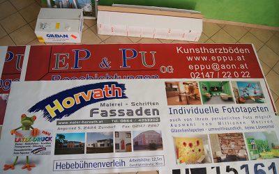 Referenzen Malerei Horvath Banner & Plakate 1