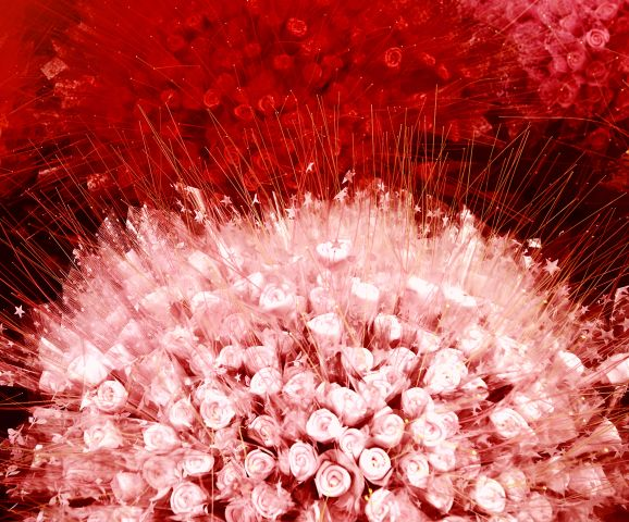 Malerei Horvath - Fototapeten Motiv Blumen Nr. 45
