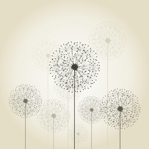 Malerei Horvath - Fototapeten Motiv Blumen Nr. 48